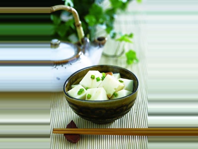 《九陽上菜》蔥香嫰豆腐