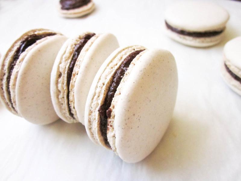 咖啡海砂法式馬卡龍