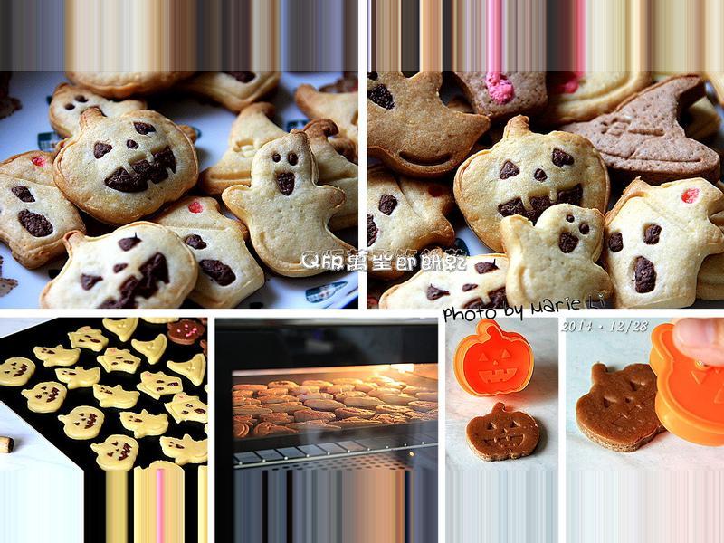 Halloween - Q版萬聖節餅乾