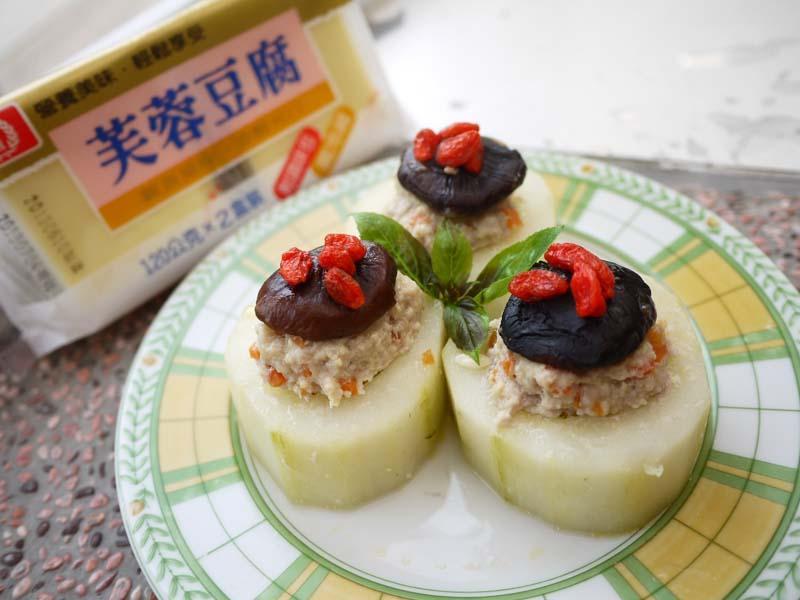 桂冠夏至涼拌-黃瓜鑲豆腐肉