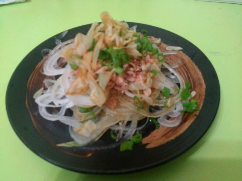 涼拌鮪魚洋蔥