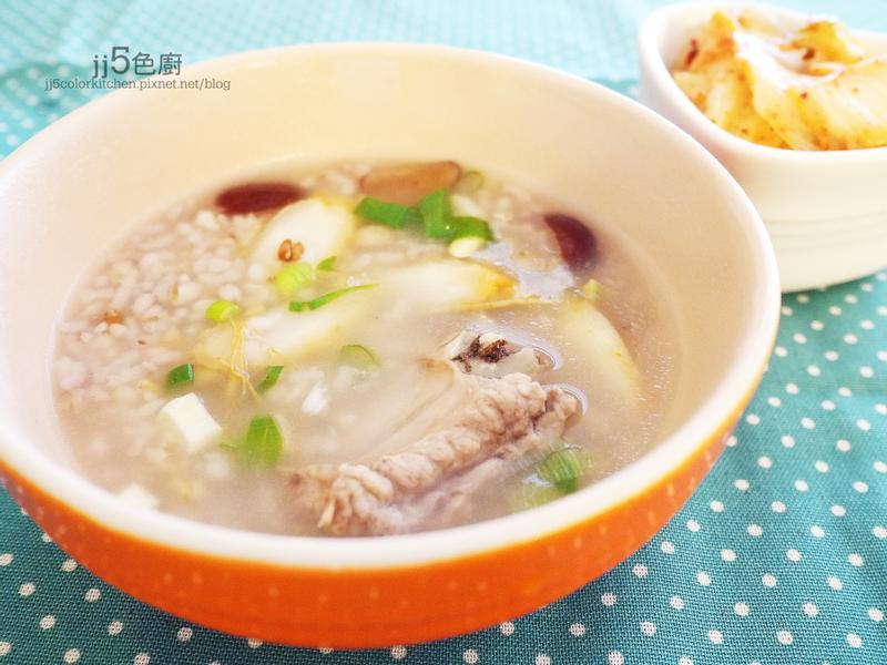 韓式藥膳排骨粥