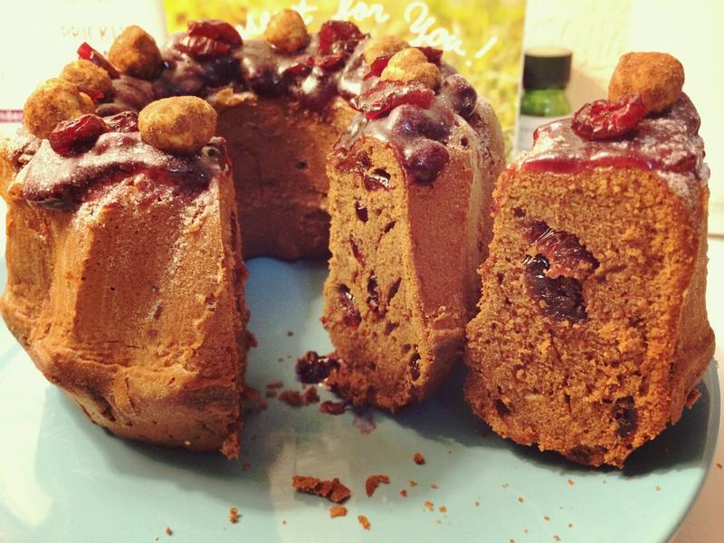 巧克力MIX焦糖莓果咕咕洛夫蛋糕