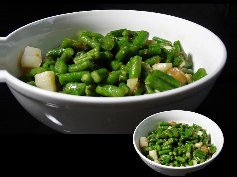 干貝炒菜豆【莎拉游亂做廚房】