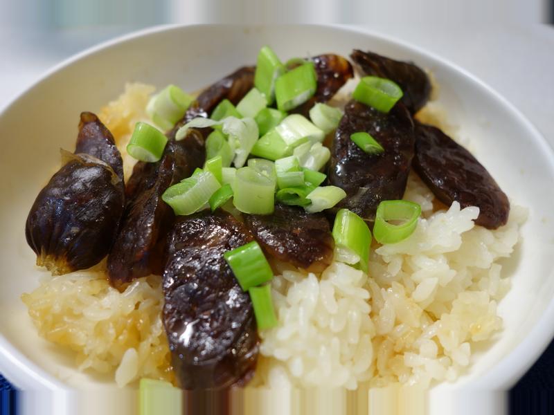 懶人料理~肝腸飯