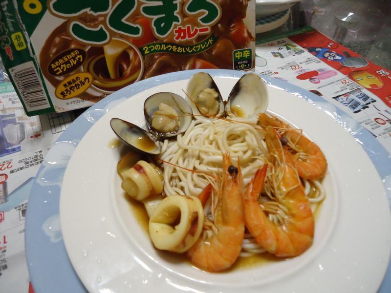海鮮馥醇咖哩麵(中辛)