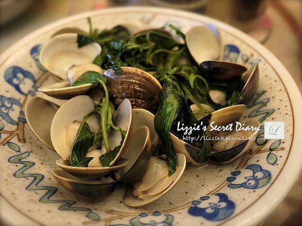 超簡易- 九層塔炒蚵蠣