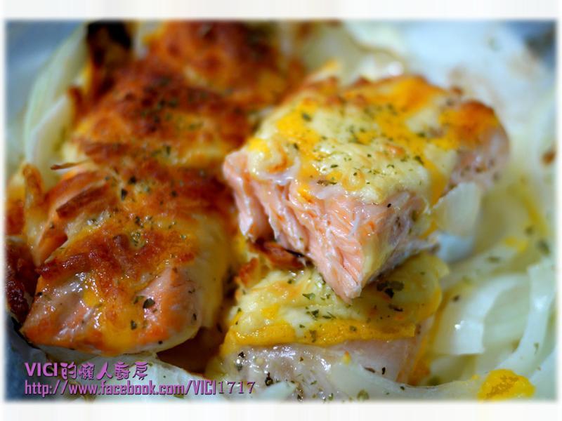 氣炸 焗鮭魚