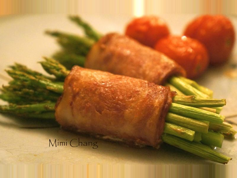 Mimi♥烤培根蘆筍卷
