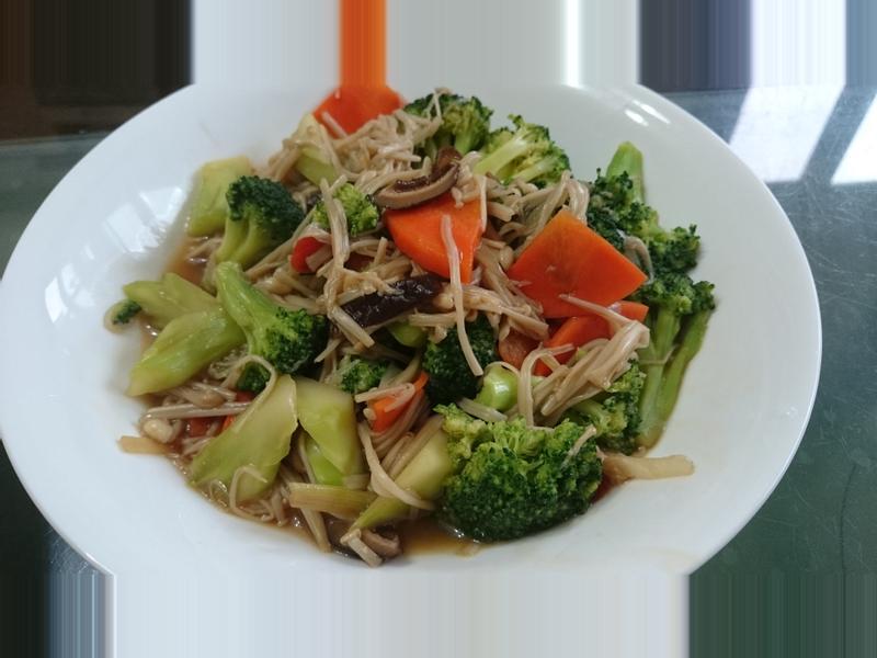 [綠色蔬菜]蠔油香菇青花菜