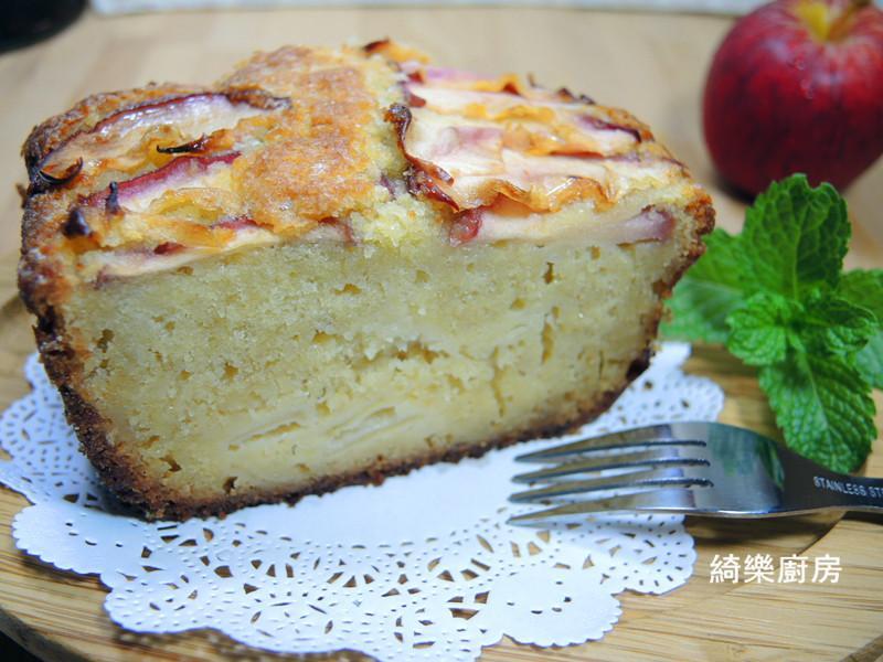 奶油蘋果磅蛋糕[Panasonic製麵包機]