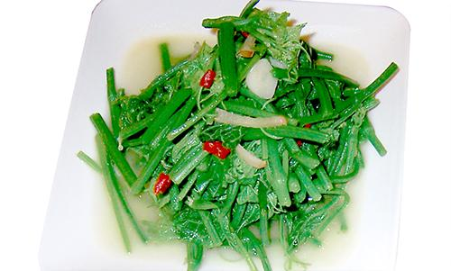 營養高熱量低(清炒龍鬚菜)