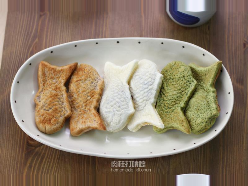 三色鯛魚燒