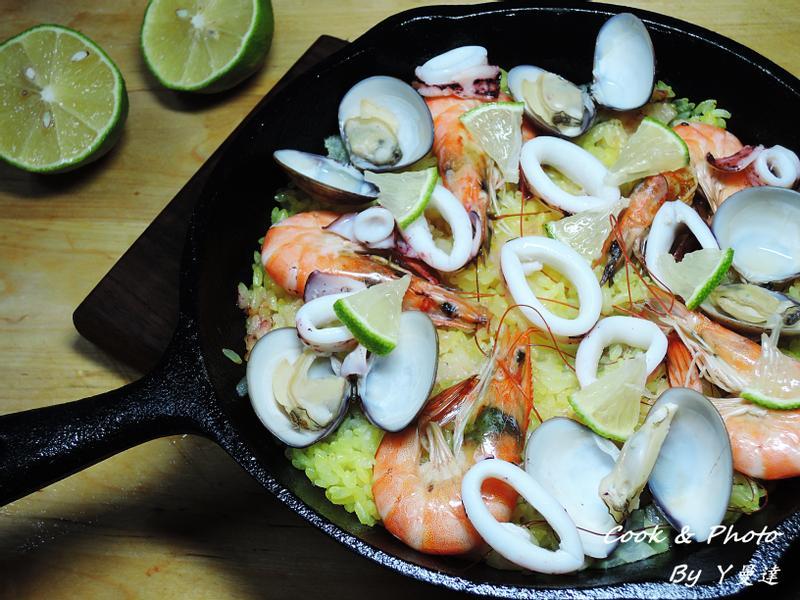 西班牙海鮮飯(簡易版)