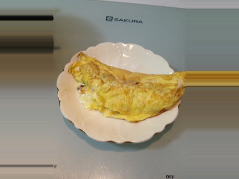 [日式料理]和風玉子半月燒