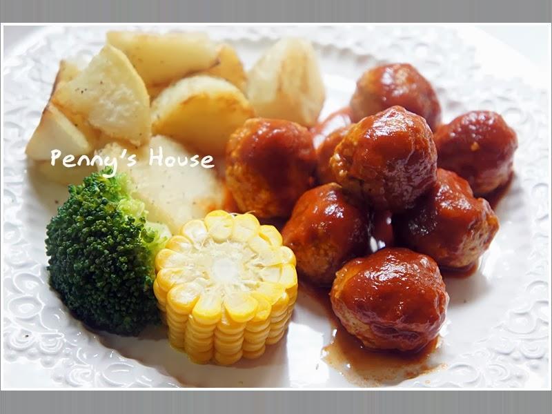 燉番茄香草丸子早午餐 - 可果美番茄鍋高湯
