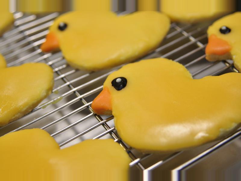 黃色小鴨餅乾 | Yellow Duck Cookies