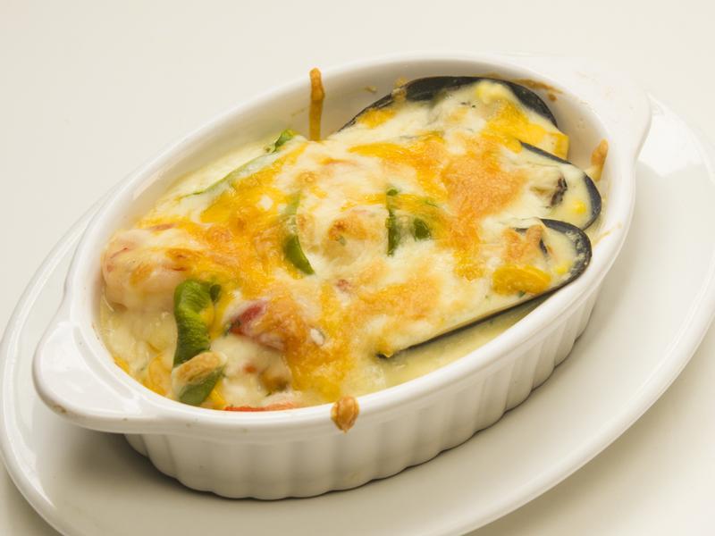 海鮮焗烤飯~在家做餐廳級料理