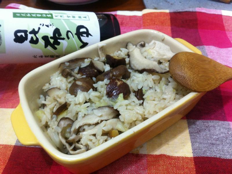 栗子雜炊飯~~時間淬釀的甘露之味