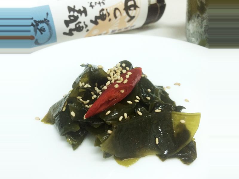 涼拌海帶~淬釀日式下午茶點