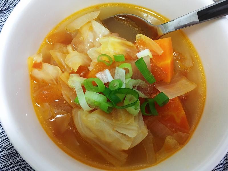 蕃茄蔬菜湯(不加蕃茄醬)