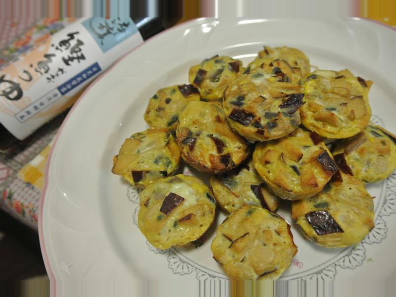 烤蛋丸【淬釀日式下午茶點】