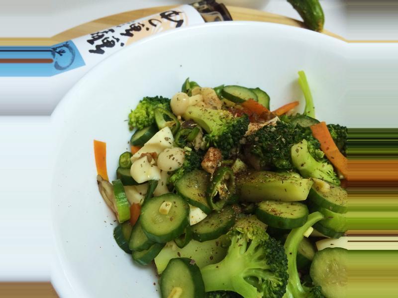 減肥就吃涼拌青菜~淬釀中式下午茶點