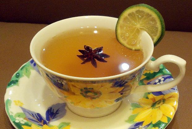蜂蜜生薑檸檬茶
