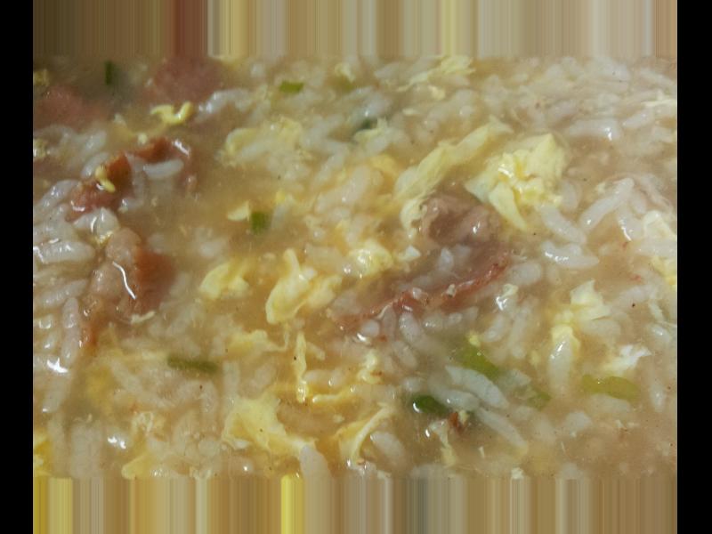 電鍋食譜*雞蛋牛肉粥