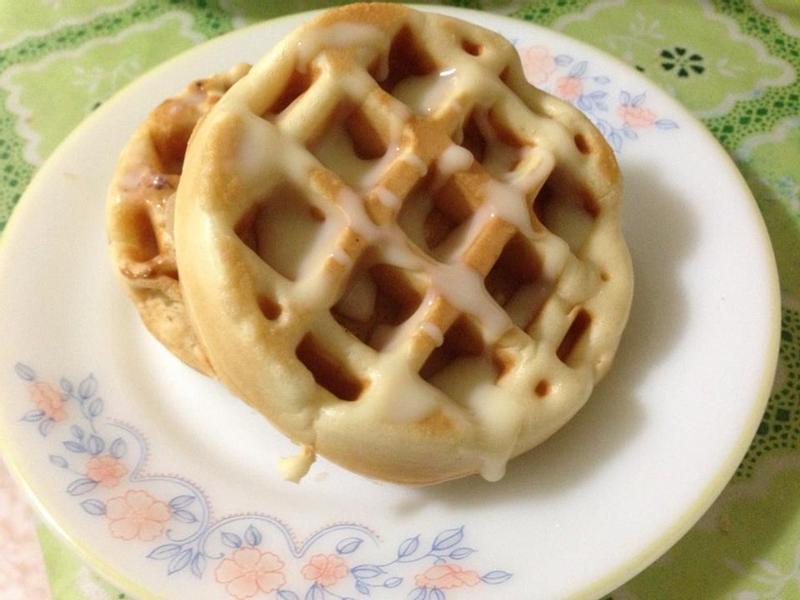 豆漿鬆餅easy版 [草莓就愛鷹牌煉奶]