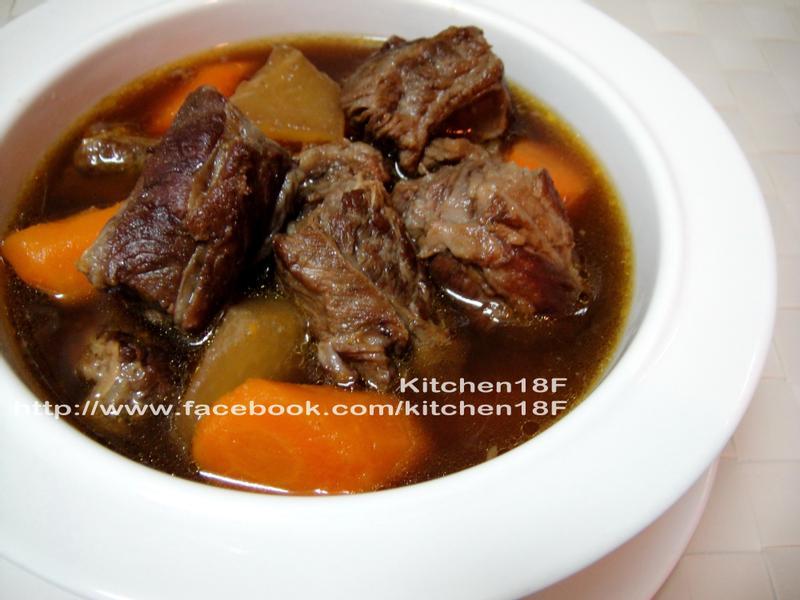 紅燒牛肉_電鍋料理 家傳味