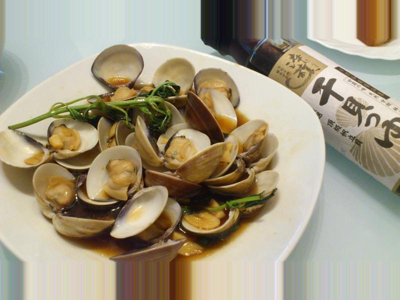 塔香炒蛤蜊--時間淬釀的甘露之味