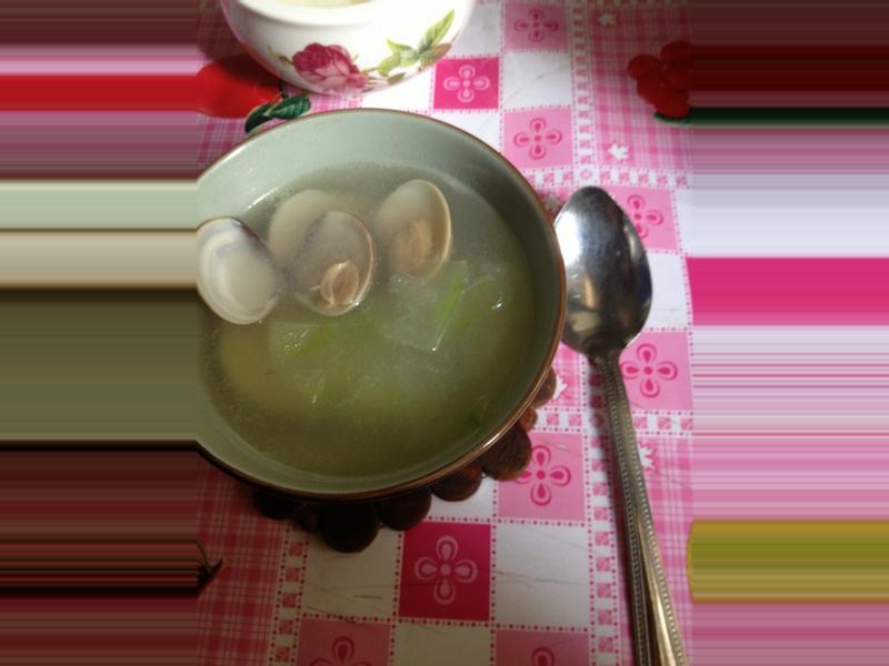 【❤小魔术料理❤】蛤蜊冬瓜汤