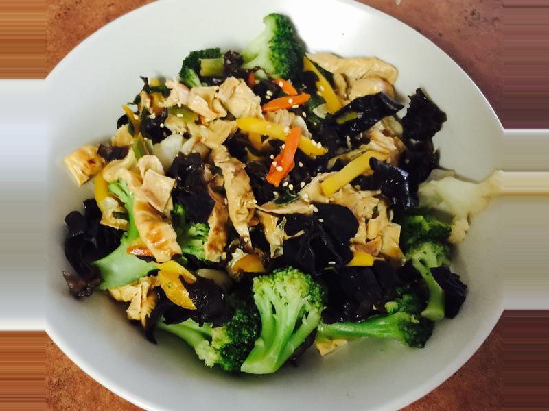 豆皮蔬菜燒