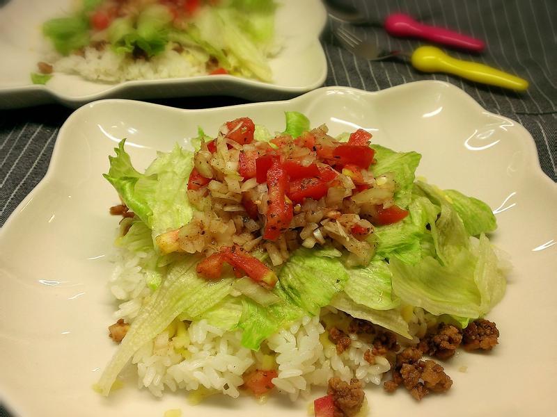 簡單美味~沖繩墨西哥飯