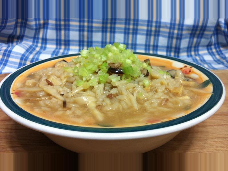 古早味竹筍稀飯