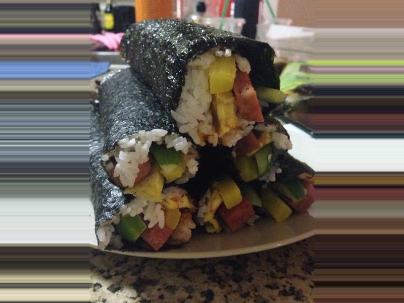 簡單做 壽司捲