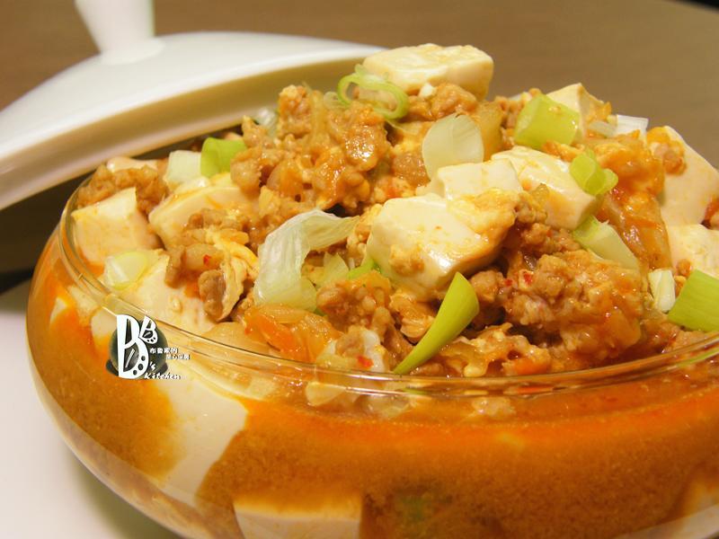 得意的一天橄欖油-泡菜麻婆豆腐