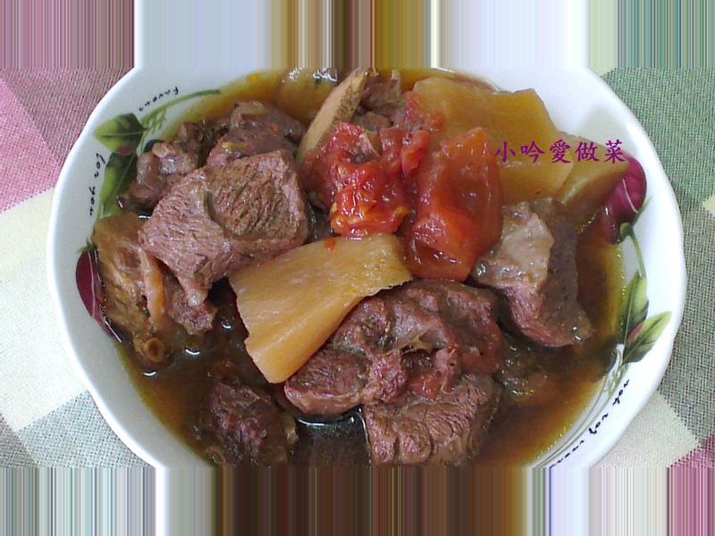 ღ小吟愛做菜ღ簡單做~茄汁紅燒牛肉