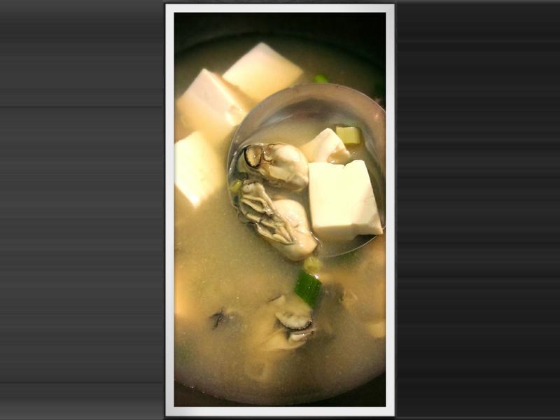 豆腐牡蠣味增湯