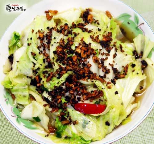 【厚生廚房】豆酥高麗菜