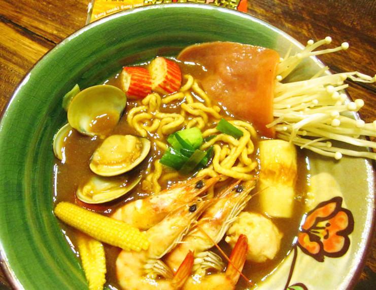 海鮮咖哩鍋燒意麵