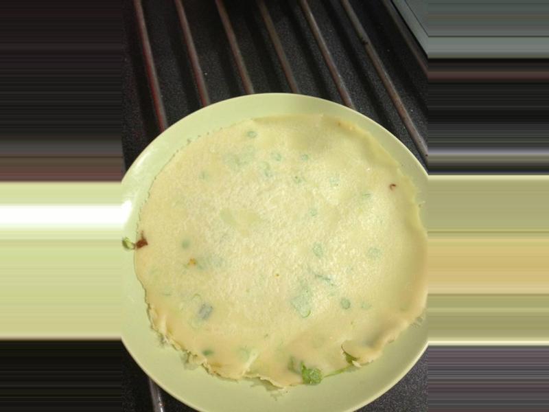 蛋餅皮~使用在來米不擔心毒澱粉