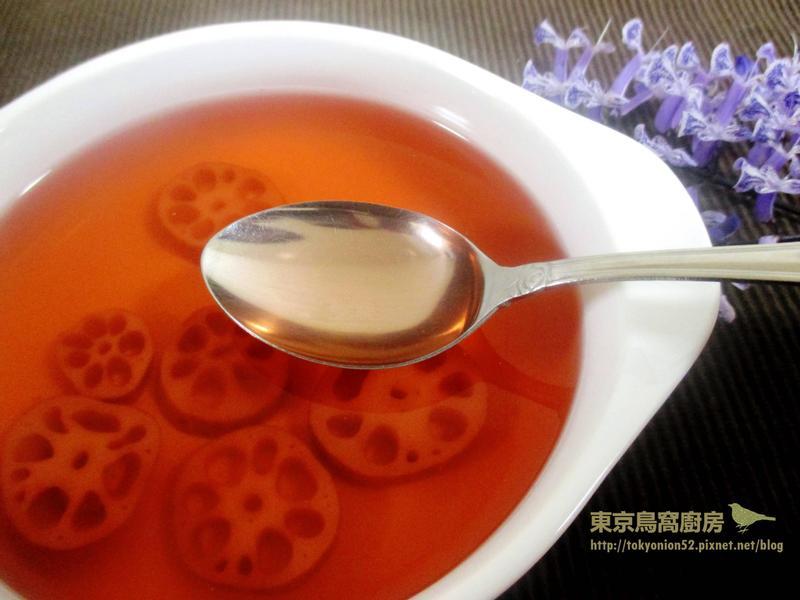 冰糖蓮藕茶