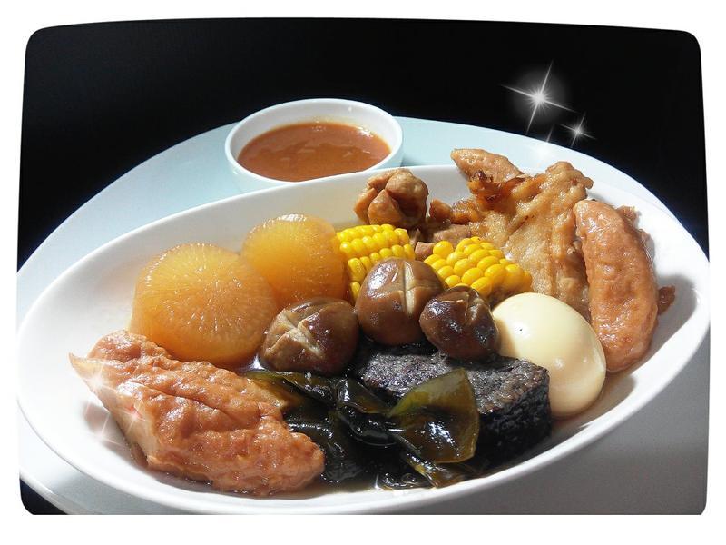 日式柴魚昆布關東煮(甜不辣)