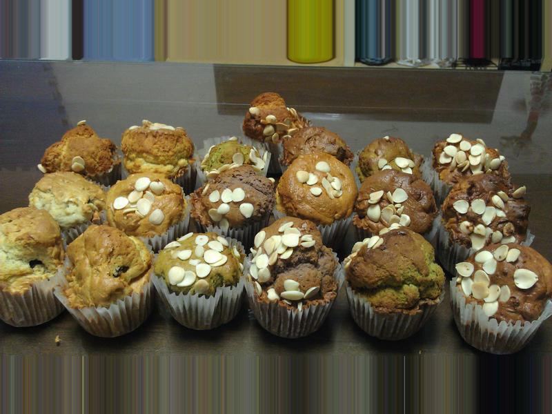 杏仁瑪芬 Almond muffin