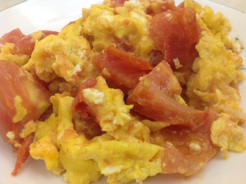 5分鐘完成番茄炒蛋
