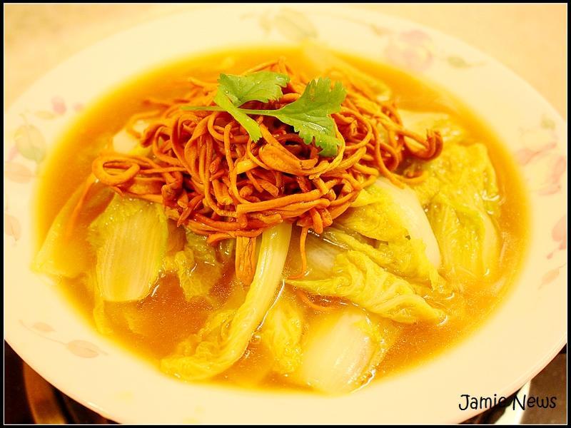 【美味湯菜】金蟲草煨娃娃菜