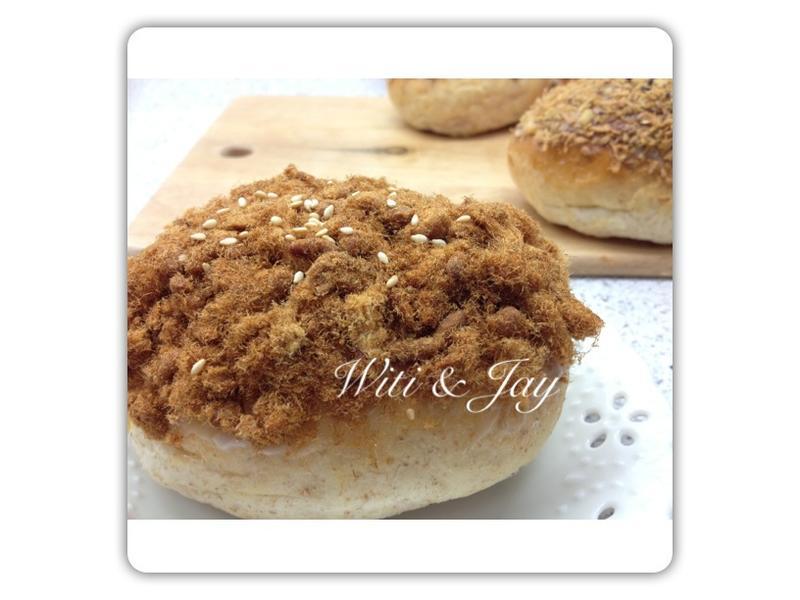 [Witi✿Kitchen](麵包機-麵包)肉鬆麵包