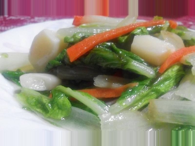 青炒小白菜【食在養生】